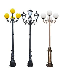 cột đèn 4 bóng-org