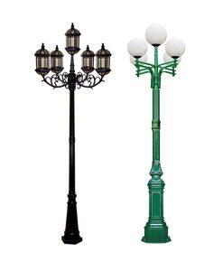cột đèn 5 bóng-org