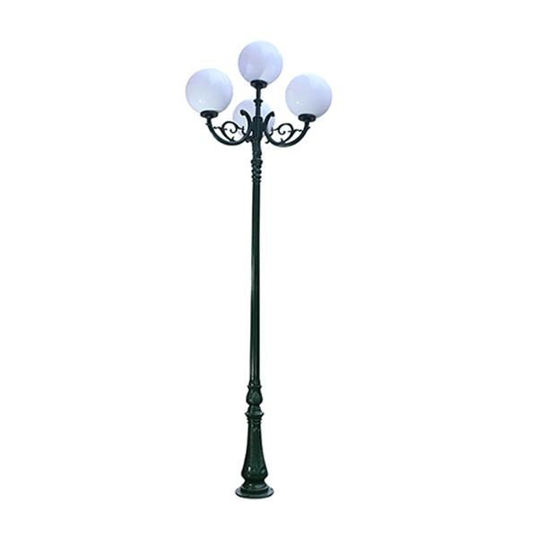 Cột đèn trang trí sân vườn 4 bóng DC09