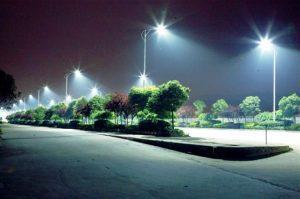 giá đèn pha led chiếu sáng công trình