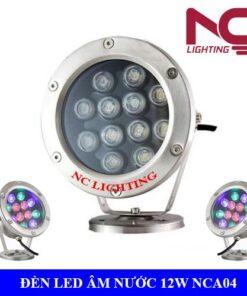 Đèn Led âm nước 12W NCA04
