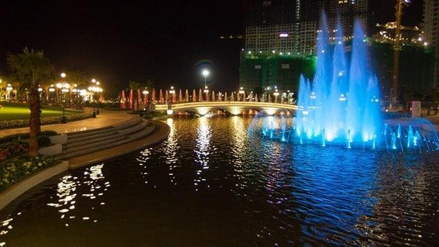 Cột đèn cao áp chiếu sáng khu đô thị