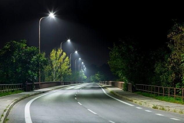 Cột đèn chiếu sáng tại Hải Phòng