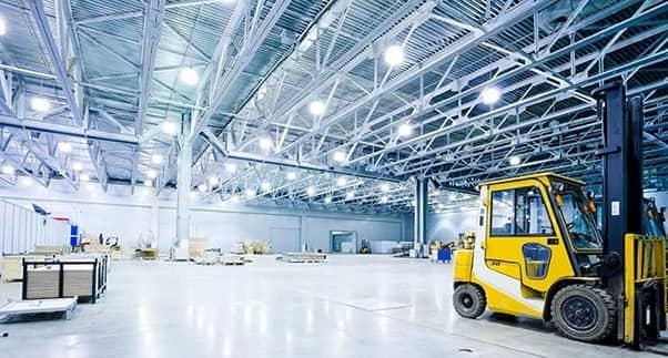 Đèn LED nên sử dụng cho nhà xưởng nhà máy