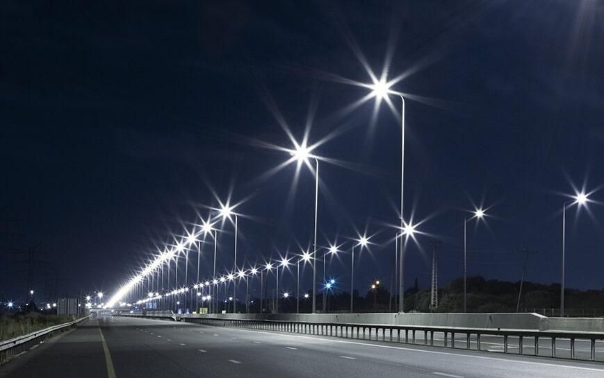 cháy đèn đường LED