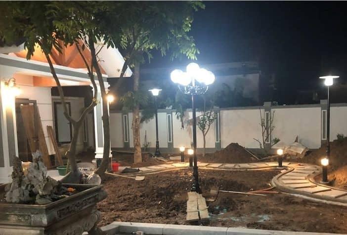 Bộ sưu tập cột đèn sân vườn