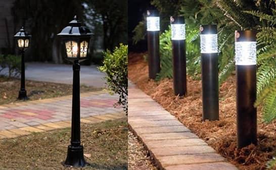 Top 5 mẫu đèn sân vườn