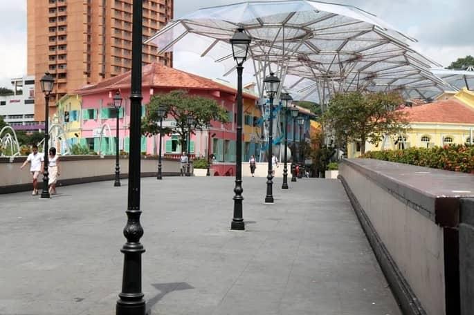 Cột đèn trang trí khu phố và đô thị