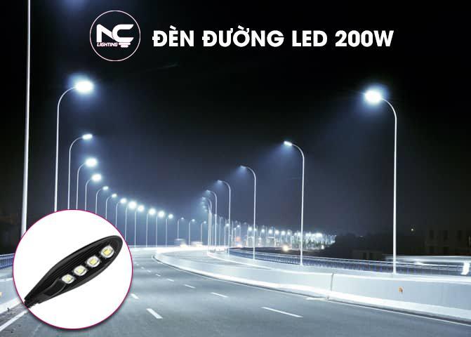 Den Duong LED 200W