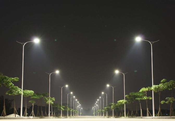 Cột đèn chiếu sáng cao áp tại Hà Tĩnh