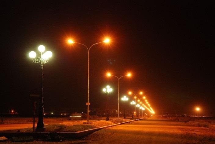 cột đèn chiếu sáng tại Bắc Ninh