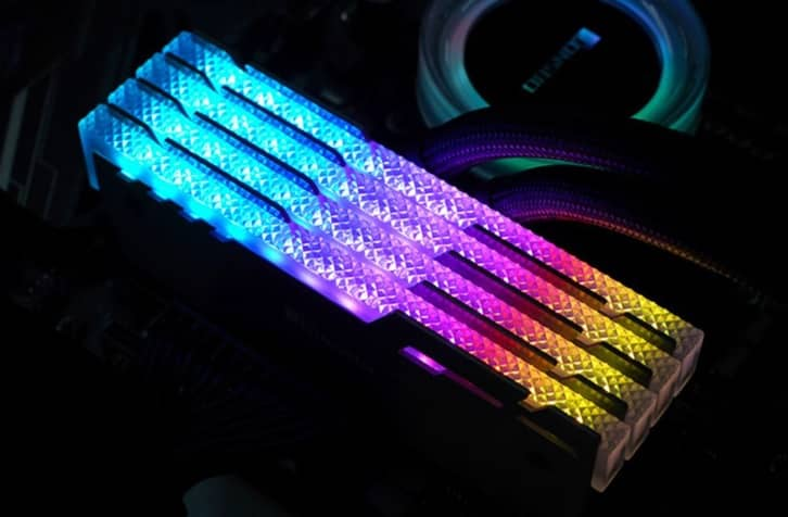 Ram Led RGB tản nhiệt