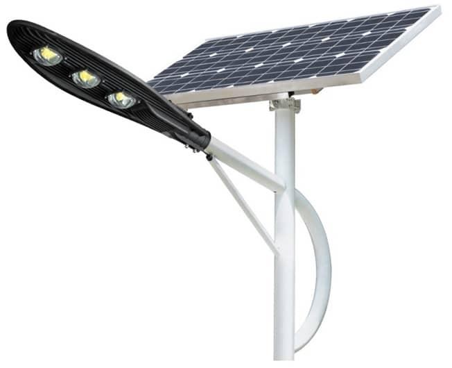 Đèn đường năng lượng mặt trời 150w