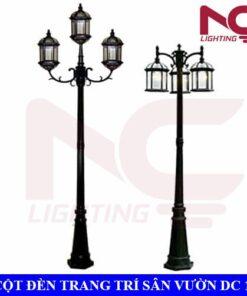 Cột đèn trang trí sân vườn DC11