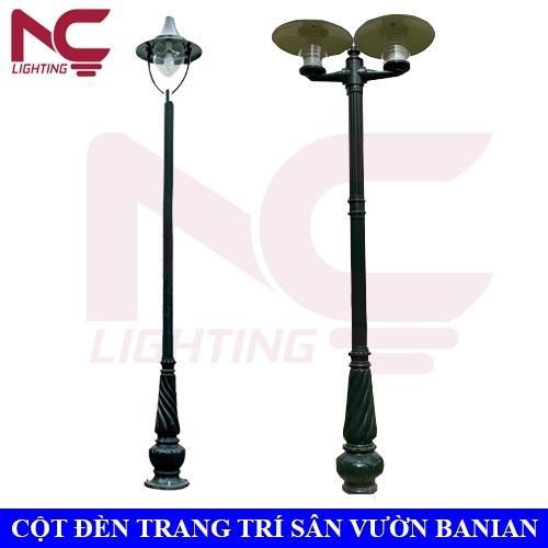 Cột đèn trang trí sân vườn Banian