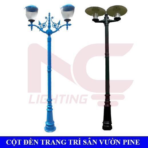 Cột đèn trang trí sân vườn Pine