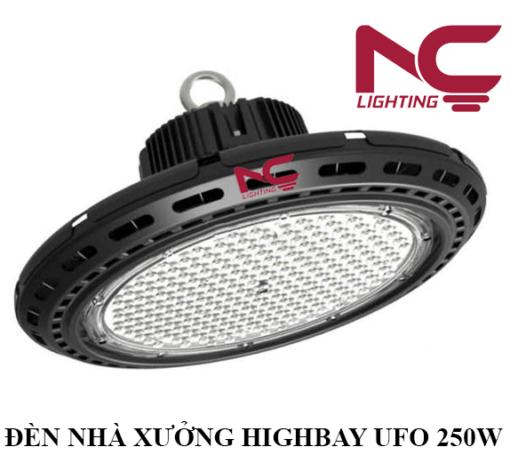 Đèn Nhà Xưởng Highbay UFO 250W