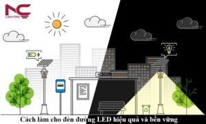 Cách làm cho đèn đường LED hiệu quả