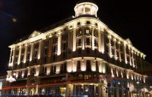 Cách Chiếu sáng mặt tiền tòa nhà đẹp