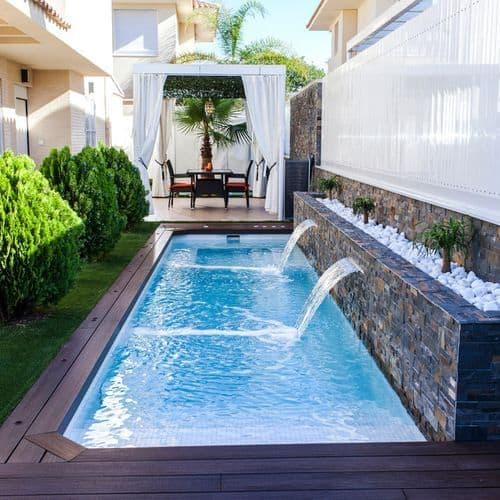 Xu hướng trang trí sân vườn với bể bơi