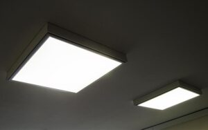 lợi ích của đèn led gắn trần Panel