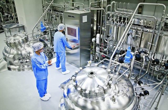 Chiếu sáng nhà máy dược phẩm