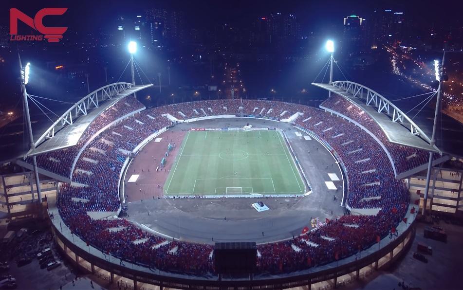Chiếu sáng sân vận động