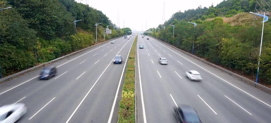Đèn đường cao tốc năng lượng mặt trời