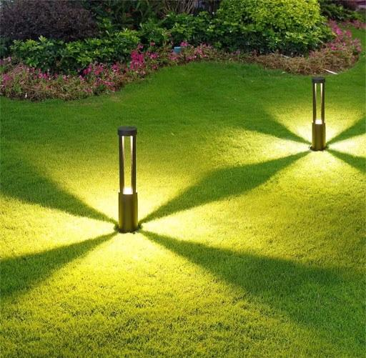 Đèn nấm chiếu sáng công viên