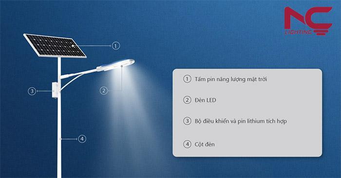 Pin đèn đường năng lượng mặt trời